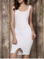 Backless Cut Out Tank Dress