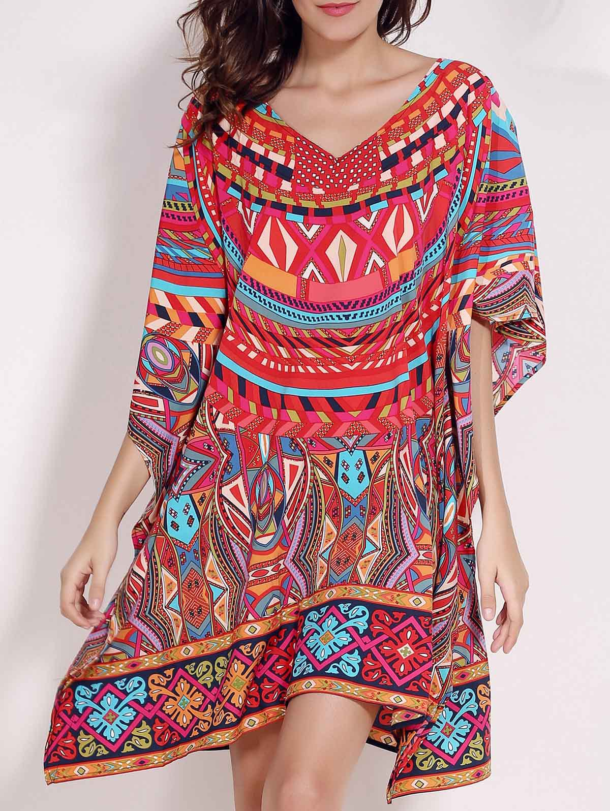 Beautiful  Ethnic CLothing African Print Dresses For Ladiesin Dresses From Women