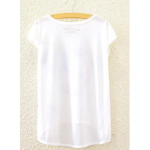Lion Crown Print High-Low Hem Cute Graphic T-Shirt For Women - WHITE ONE SIZE(FIT SIZE XS TO M)