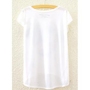 Stylish Round Neck Short Sleeve Colorful Unicorn Print High-Low Hem T-Shirt For Women - WHITE ONE SIZE(FIT SIZE XS TO M)