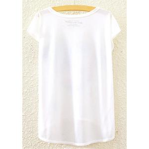 Stylish Round Neck Short Sleeve Campanile and Floral Print High-Low Hem T-Shirt For Women -