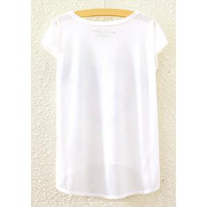 Stylish Round Neck Short Sleeve Skull Print High-Low Hem T-Shirt For Women -