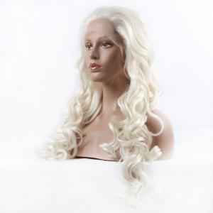 Ladylike Curly Long Synthetic Women's Lace Front Wig -