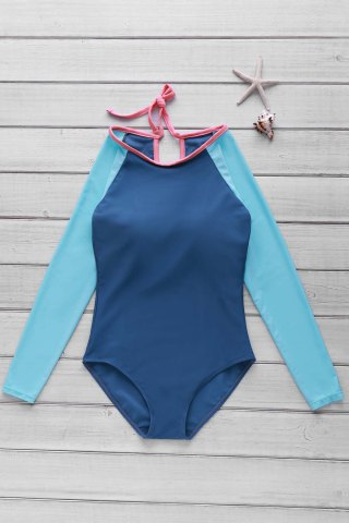 Unique Long Sleeve One Piece Swimwear Rashguard
