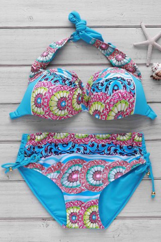 Outfit Women's Sexy Print Push Up Bikini Suit