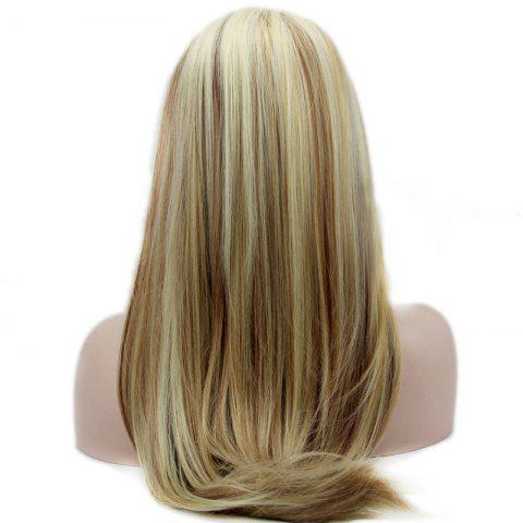 Outfits Straight Long Synthetic Women's Lace Front Wig - COLORMIX  Mobile