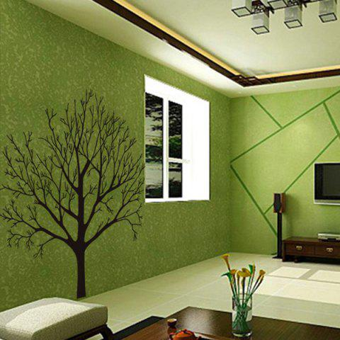 Outfits Fashion Tree Branch Pattern Background Wall Sticker For Bedroom Livingroom Decoration - BLACK  Mobile