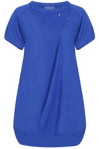 Outfit Casual Scoop Neck Short Sleeve Loose-Fitting Women's Dress
