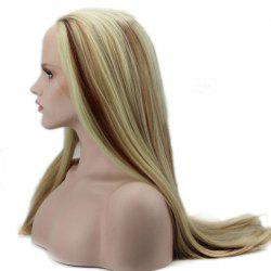 Straight Long Synthetic Women's Lace Front Wig