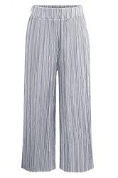 Pleated Wide Leg Pants -