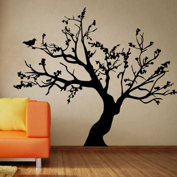 2019 fashion big tree pattern background wall sticker for bedroom