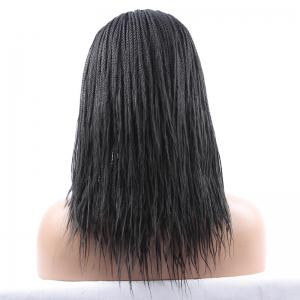 Long Synthetic Women's Dreadlock Lace Front Wig -
