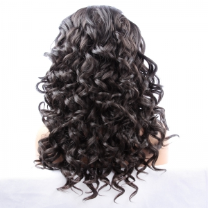 Fashion Long Synthetic Women's Curly Lace Front Wig -