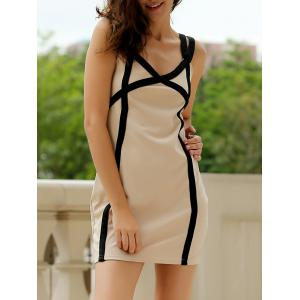 Sweetheart Neck Bandage Bodycon Straps Dress