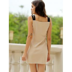 Sweetheart Neck Bandage Bodycon Straps Dress -
