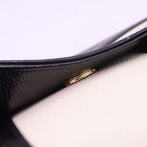 Casual Cover and Color Block Design Crossbody Bag For Women - BLACK