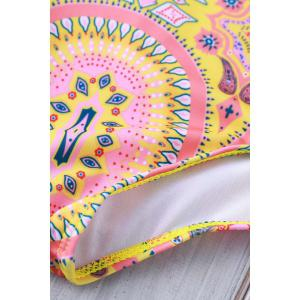 Sexy Halter   Backless One Piece Swimwear For Women - COLORMIX S