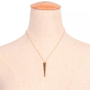Chic Triangle Sequin Necklace For Women - GOLDEN