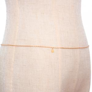 Solid Color Sequins Body Chain -
