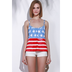 American Flag Patriotic Tank Top -