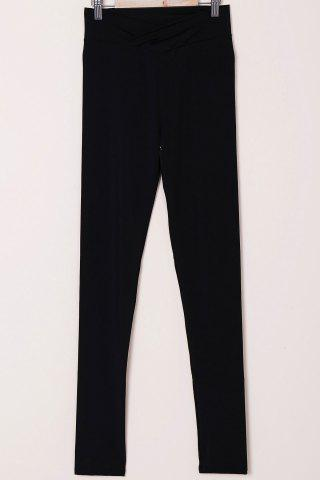 Discount Active High-Waisted Solid Color Skinny Women's Pants