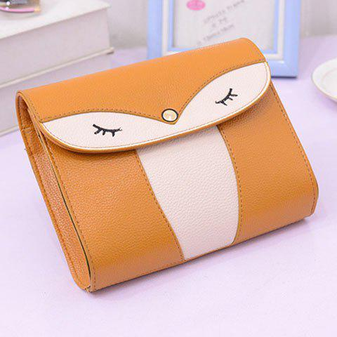 Buy Casual Cover and Color Block Design Crossbody Bag For Women - YELLOW  Mobile