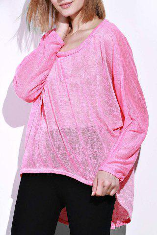 Buy Dolman Sleeve Asymmetrical Sweater