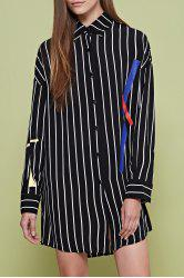 Striped Long Sleeve Shirt -