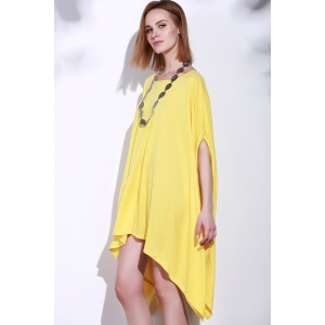 Asymmetric Loose Tunic Casual Dress -