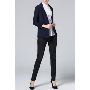 Solid Color Sheath Blazer -