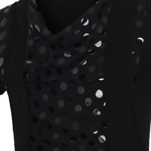 Circle Printed Faux Twinset Short Sleeves T-Shirt For Men -