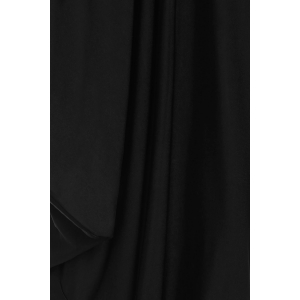Sexy Strappy Black Loose-Fitting Jumpsuit For Women -