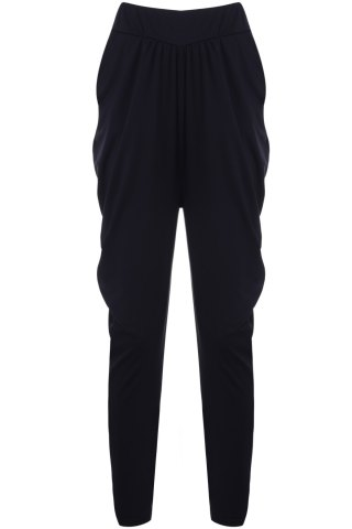 Fancy Elastic Waist Knickerbockers Sweat Pants