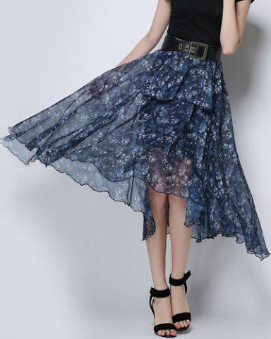 Sale Floral Swing See Thru Skirt