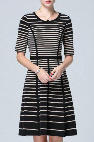Shop High Waist Striped Dress