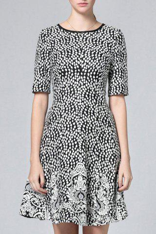 Shops Printed Flare Dress