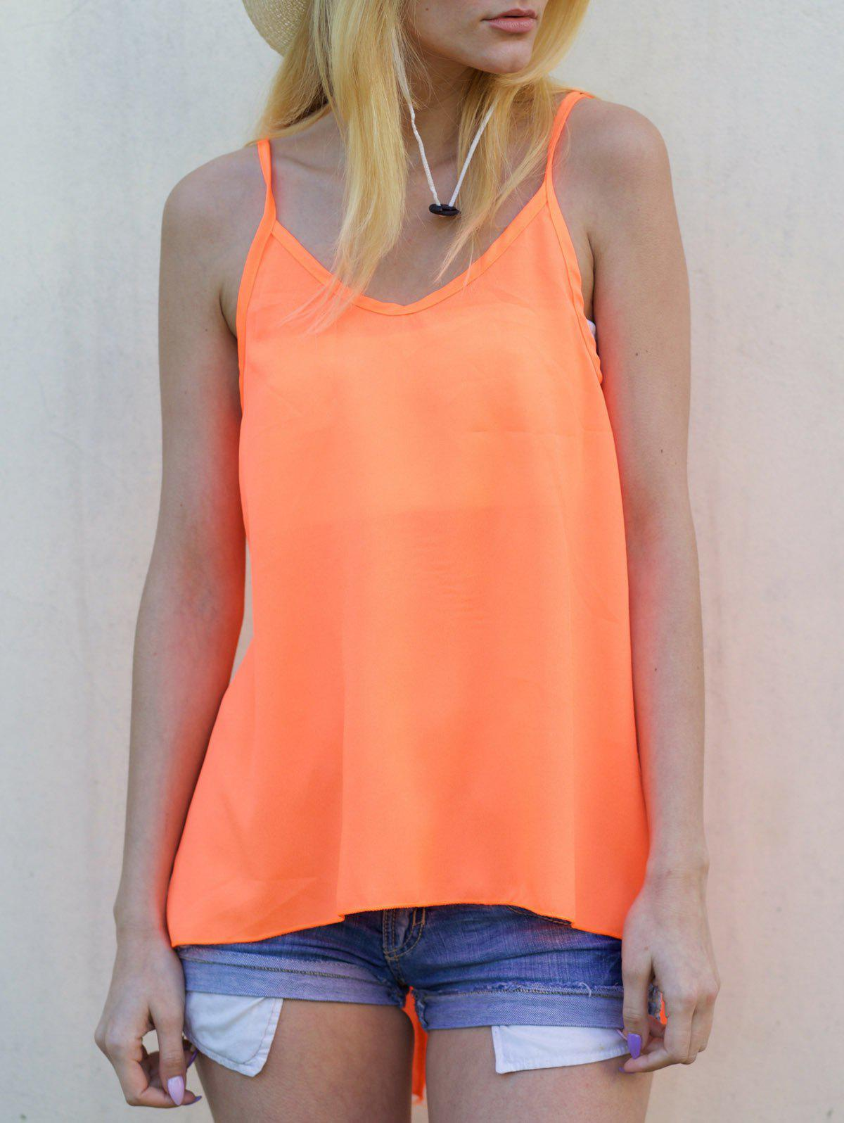 Best Open Back Strappy Tank Top