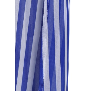 Vertical striped maxi dresses