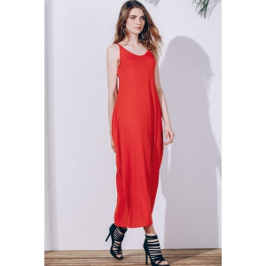Casual Tea Length Slip Summer Dress -