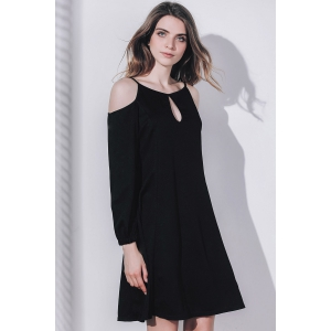 Keyhole Cold Shoulder Dress