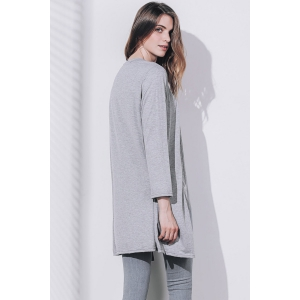 Women's Stylish Long Sleeve Solid Color Cardigan -