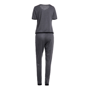Short Sleeve Tee and Pants Sweat Suit -