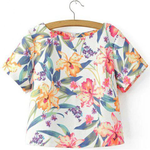 Outfit Concealed Rear Zip Hawaiian Shirt