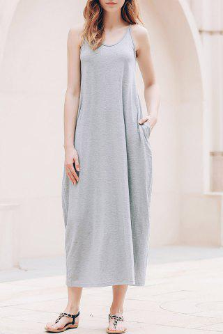 New Casual Tea Length Slip Summer Dress