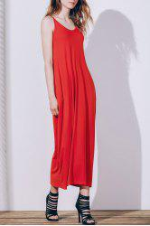 Spaghetti Strap Casual Maxi Summer Dress