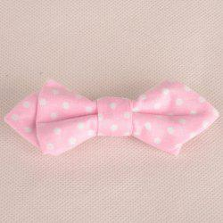 Chic Polka Dot Pattern Candy Color Double-Deck Bow Tie For Kids -