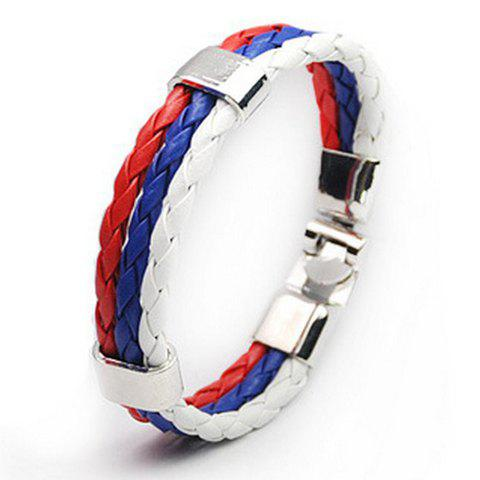Discount Faux Leather Russia Bracelet