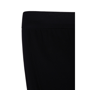 Stylish Elastic Waist Asymmetrical Loose-Fitting Women's Harem Pants - BLACK L