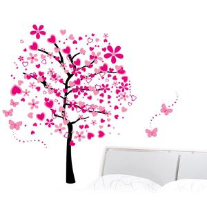Vinyl Tree Pattern Wall Art Stickers For Kids Room - COLORMIX