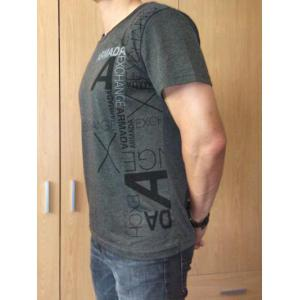 Slimming Trendy Round Neck Lettering Short Sleeve Polyester T-shirt For Men -